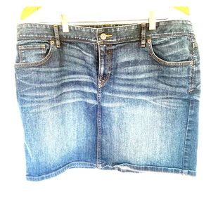 Loft Jean Skirt size 14